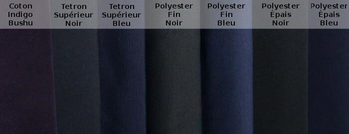 Comparatif des Tissu pour Hakama