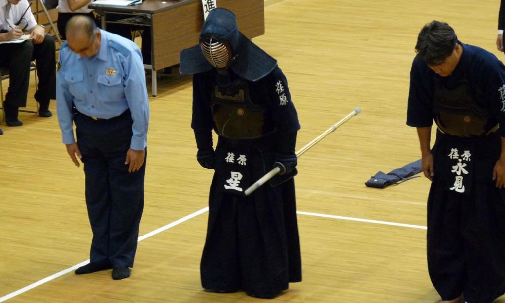 Norio Hoshi - Début de la compétition annuelle de Kendo de la police de Tokyo - 2010