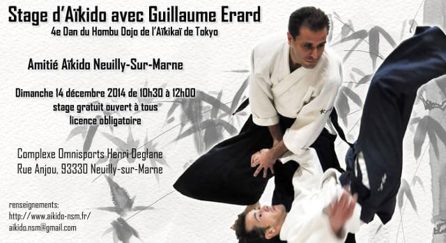 neuill dec2014 Série de stages dAïkido avec Guillaume Erard   Hiver 2014