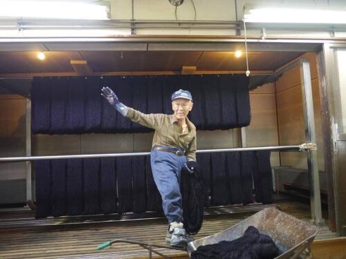 Le doyen de l'atelier Nogawa - Plus de 60 années d'expérience