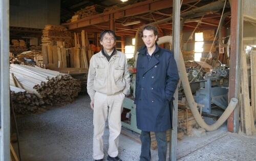 Atelier Horinouchi, Me Horinouchi avec Jordy Delage