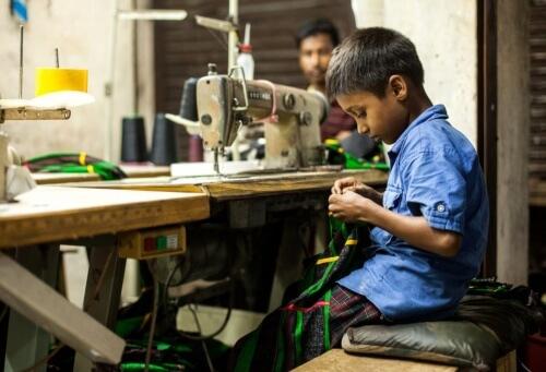 Travaille des enfants au Bangladesh Source : Thestar.com