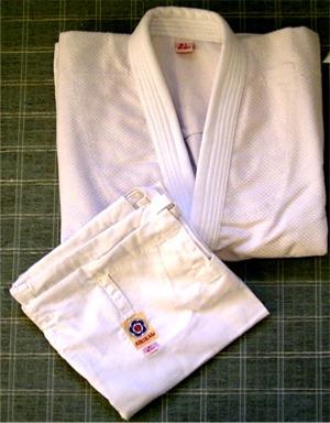 Dogi d'Aikido fabriqué au Pakistan
