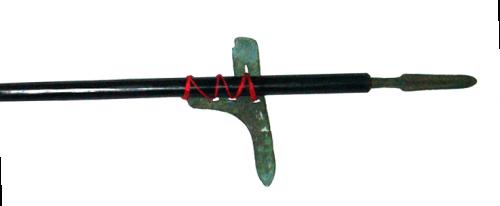 Hallebarde ancienne, symbolisée par le kanji 戈